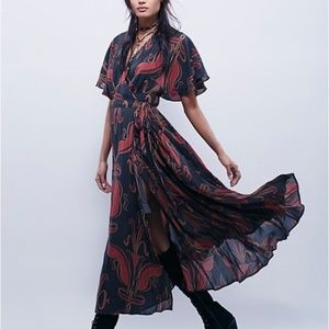 NWT Free People Sweet Escape Maxi Dress